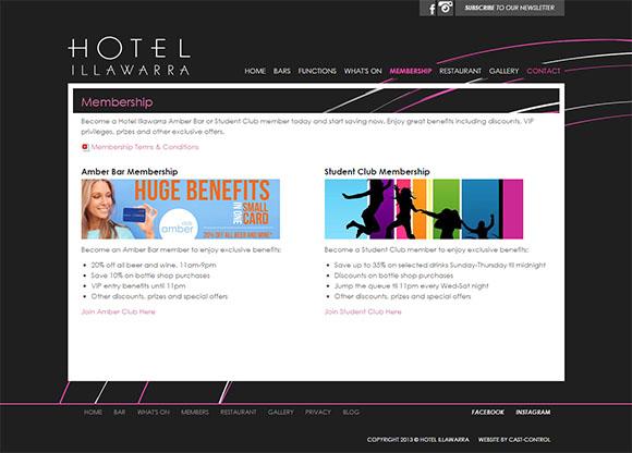 HotelIllawarra-Membership