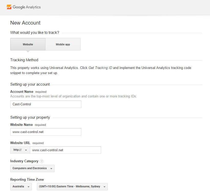 Analytics-New-Account