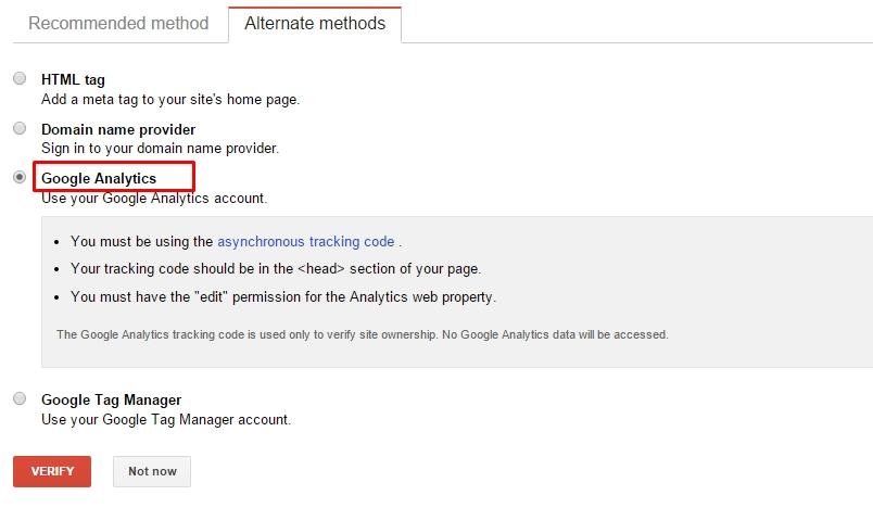 Google-Search-Console-Verify-Analytics
